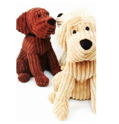 Adorable ribbed dog door stops in 3 assorted colours