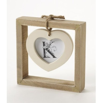 Single Hanging Hearts Photo Frame