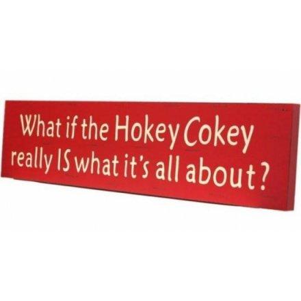 Hokey Cokey Vintage Sign