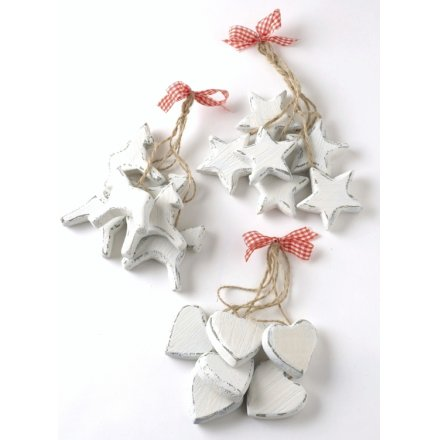 Bundles Of Wooden Heart Star Reindeer 3a