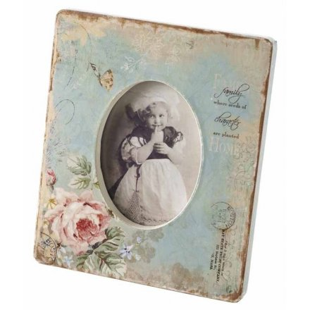 Small Floral Frame