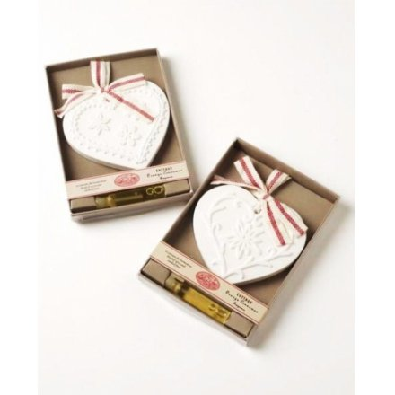Orange Scented Clay Hearts In Box Mix