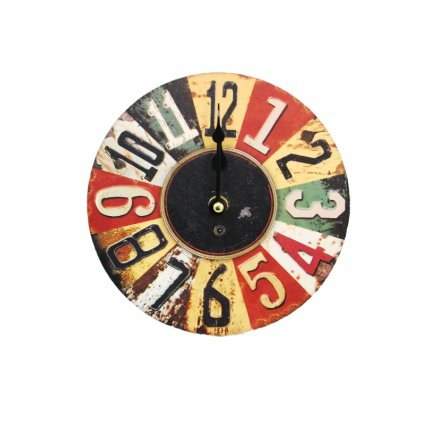 Wall Clock With Stand