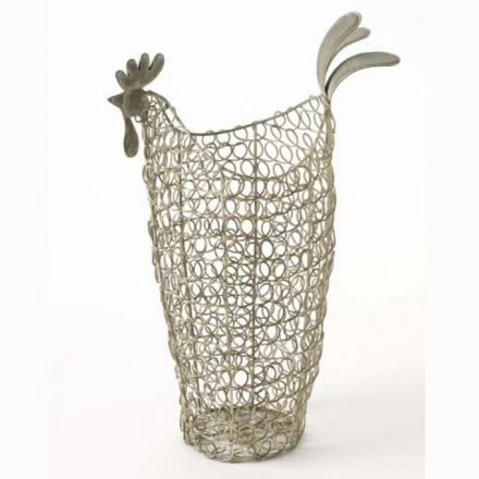 Wire Chicken Basket Large