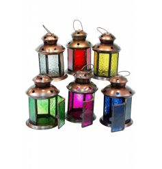 6 assorted traditional Morrocan lanterns