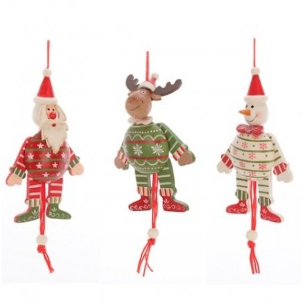 Jumping Jack Santa Deer and Snowman Mix 3a