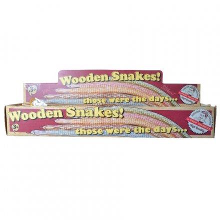 Wooden Retro Snakes