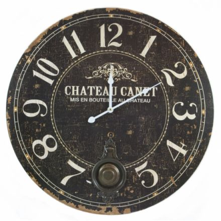 Chateau Pendulum Wall Clock