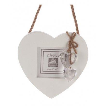 Heart Hanging Photo Frame