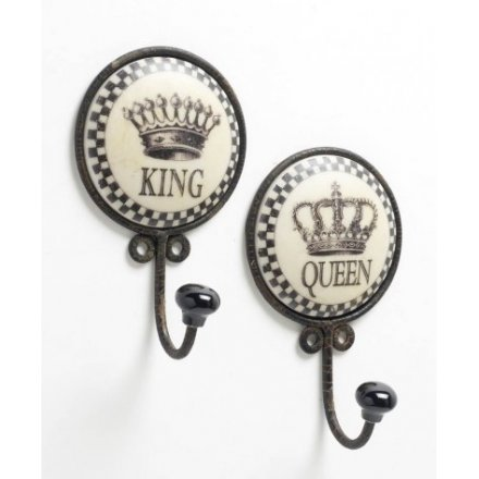 King and Queen Iron Hooks