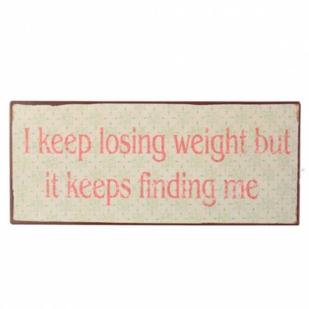 Iron Plaque I Keep Losing Weight