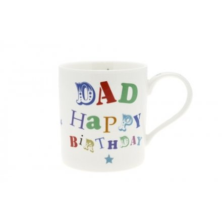 Headline Dad Birthday Fine China Mug
