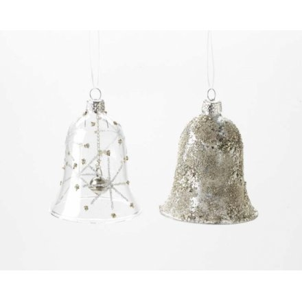 Glass Hanging Bell Mix