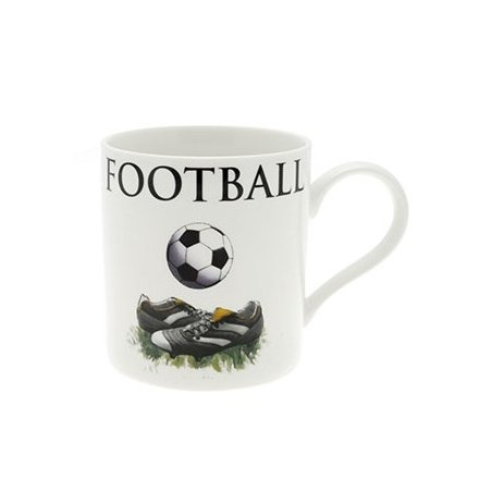 Football Fine China Oxford Mug Boxed
