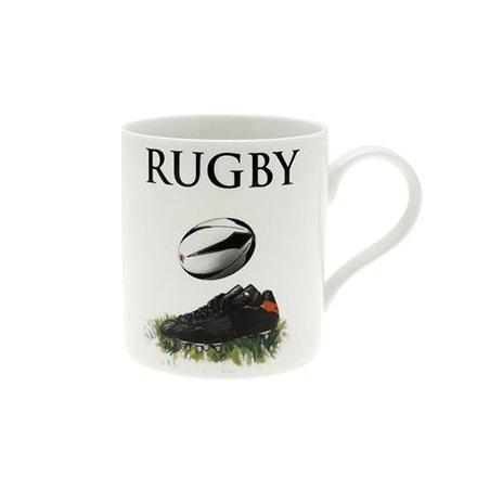 Rugby Fine China Oxford Mug Boxed
