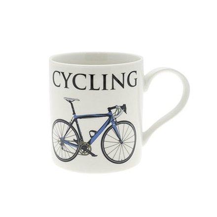 Cycling Fine China Oxford Mug Boxed