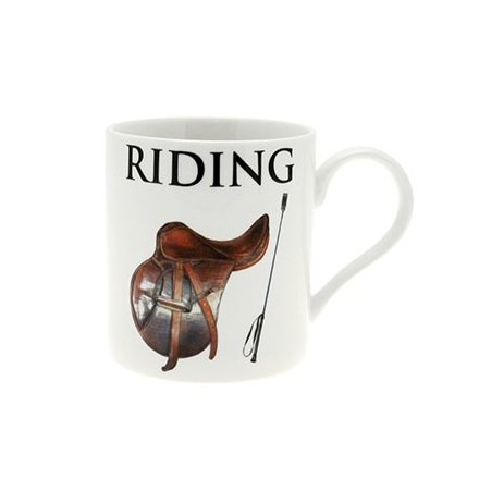 Riding China Oxford Mug Boxed