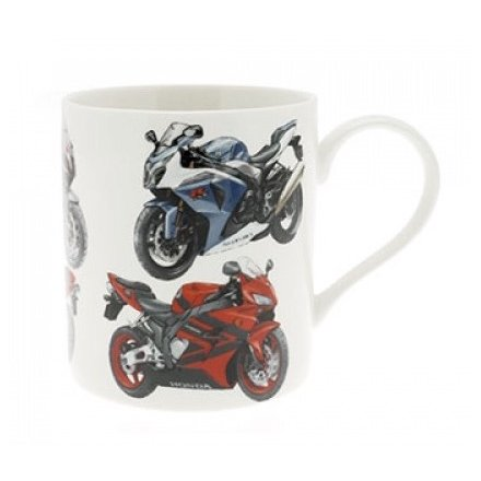 Super Bike China Mug Boxed