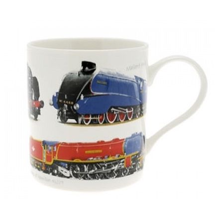Classic Train China Mug