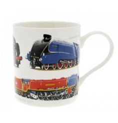 The Leonardo Collection classic train fine china mug