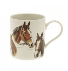 The Leonardo Collection horse fine china mug