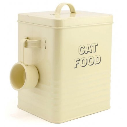 Home Sweet Cream Cat Food Tin