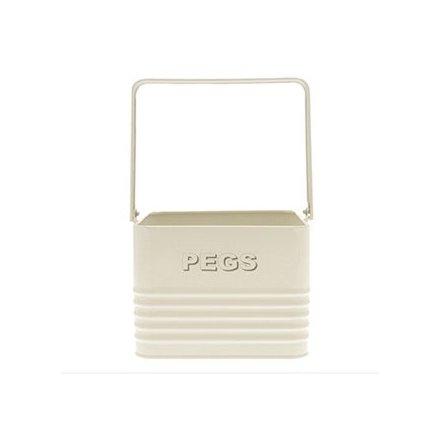 Home Sweet Cream Peg Box
