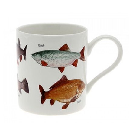 British Fish Fine China Mug