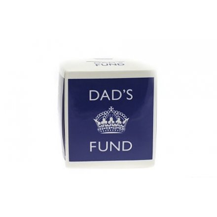 Dad`s Fund Money Box