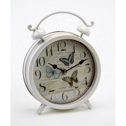 Butterfly Table Clock