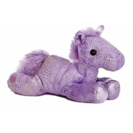 Flopsie Horse Purple 8in