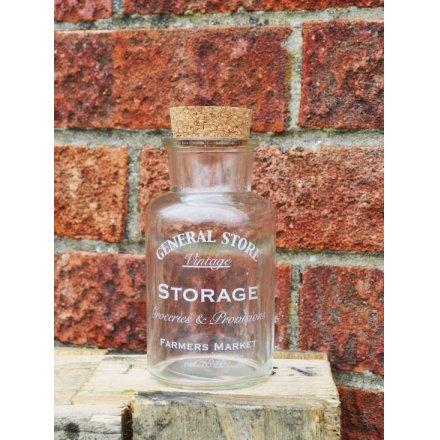 General Store Glass Bottle