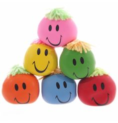 A fun mix of super squishy and squeegee faces in an assortment of colours!