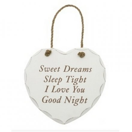 Sweet Dreams Hanging Plaque
