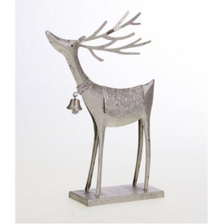 Small Metal Reindeer