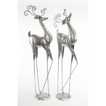 Elegant Deer Ornament Mix 84cm