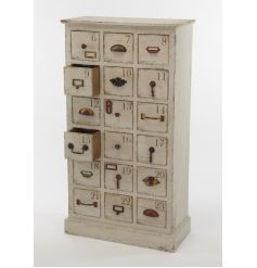 Wooden Cupboard with Draws