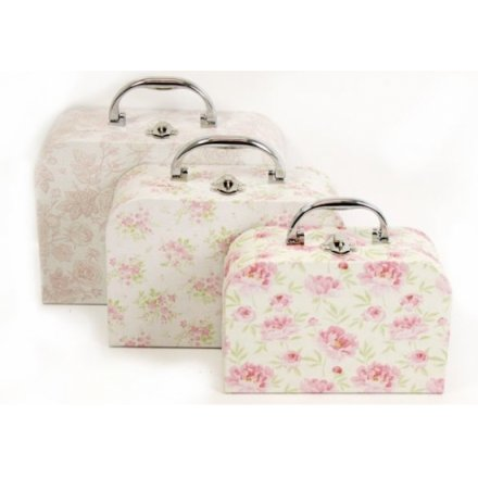 English Rose Carry Case Set (3)