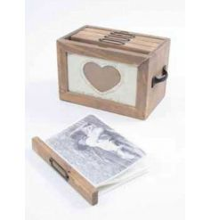 Vintage Wooden photo file