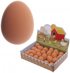 fun bouncy eggs in a farm yard inspired CDU