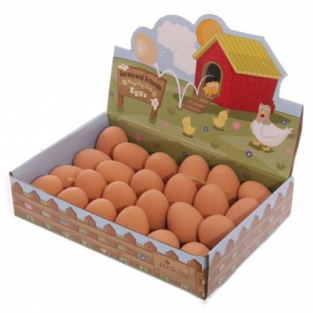 Farmyard Friends Bouncing Eggs (24)