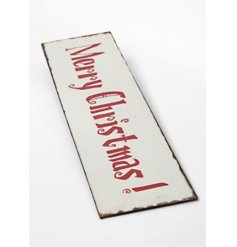Wall hanging metal Christmas sign by Heaven Sends