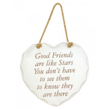 Good Friends Are Like Star -  Plaque