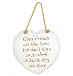 Good friends are like stars you dont have to see them to know they are there