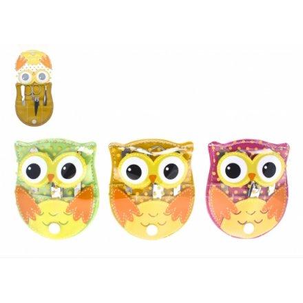 Owl Manicure Set 3a