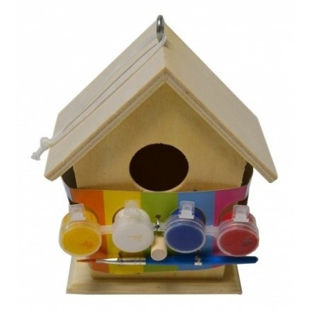 Paint Your Own Wooden Bird House