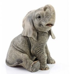 From Lesser and Pavey, cute elephant figure