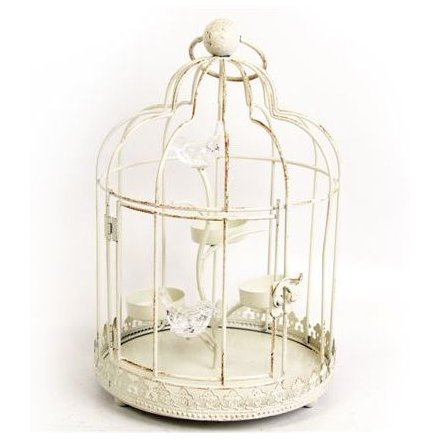 Bird Cage Triple T Lite Holder