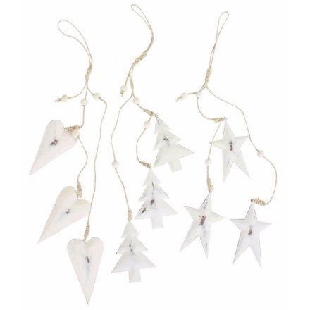 Metal Hanging Christmas Decorations, 3a