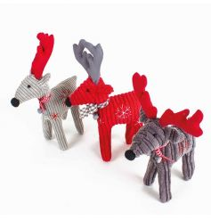 An assortment of 3 nordic style reindeer by Heaven Sends